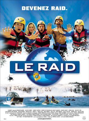 Le raid - French Movie Poster (thumbnail)