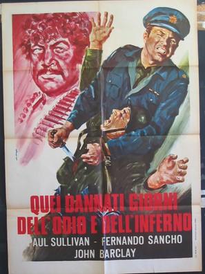 Aquel maldito día - Italian Movie Poster (thumbnail)