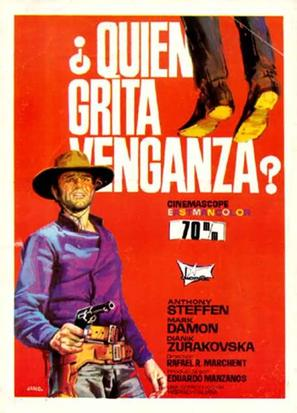 ¿Quién grita venganza? - Spanish Movie Poster (thumbnail)