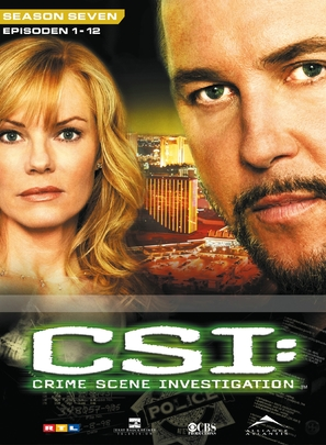 """CSI: Crime Scene Investigation"" - German DVD movie cover (thumbnail)"