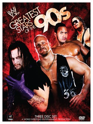 WWE: Greatest Wrestling Stars of the '90s - DVD movie cover (thumbnail)