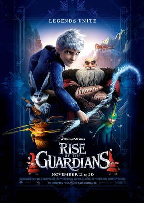 Rise of the Guardians - Movie Poster (thumbnail)