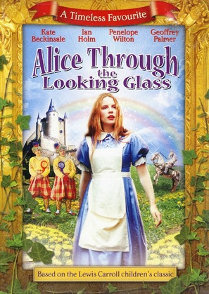 Alice Through the Looking Glass - DVD movie cover (thumbnail)