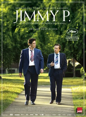 Jimmy P. - French Movie Poster (thumbnail)