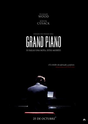 Grand Piano - Spanish Movie Poster (thumbnail)