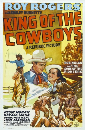 King of the Cowboys - Movie Poster (thumbnail)