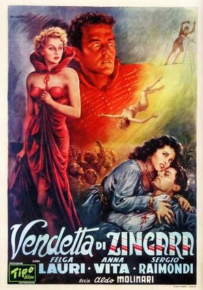 Vendetta di zingara - Italian Movie Poster (thumbnail)