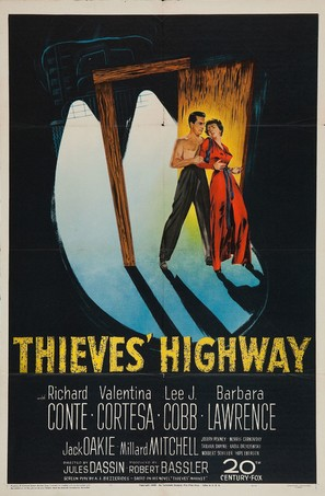 Thieves' Highway - Movie Poster (thumbnail)