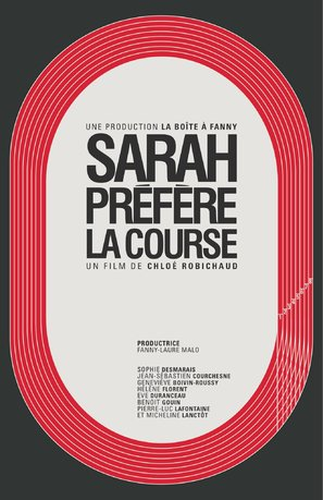 Sarah préfère la course - Canadian Movie Poster (thumbnail)
