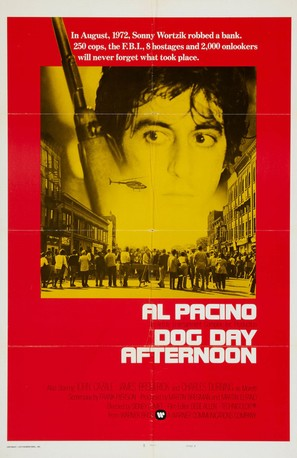 Dog Day Afternoon - Movie Poster (thumbnail)