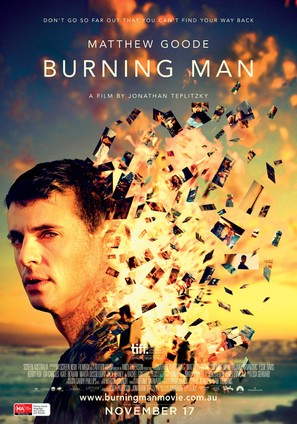 Burning Man - Australian Movie Poster (thumbnail)