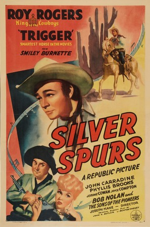 Silver Spurs - Movie Poster (thumbnail)