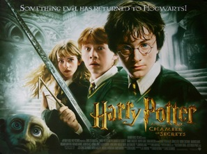 Harry Potter and the Chamber of Secrets - British Movie Poster (thumbnail)