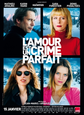 L'amour est un crime parfait - French Movie Poster (thumbnail)