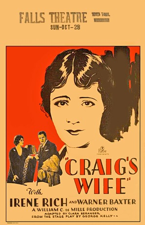 Craig's Wife - Movie Poster (thumbnail)