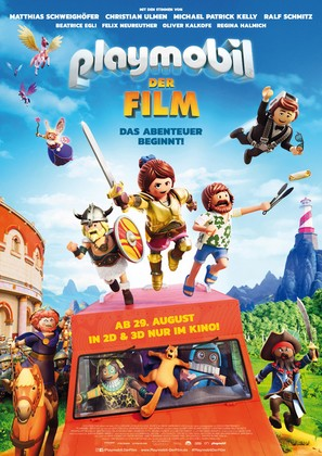 Playmobil: The Movie - German Movie Poster (thumbnail)