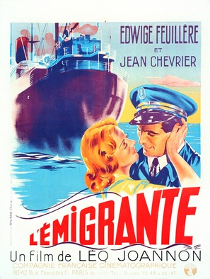 L'émigrante - French Movie Poster (thumbnail)