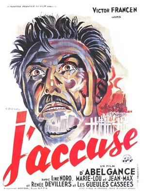 J'accuse! - French Movie Poster (thumbnail)