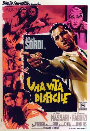Una vita difficile - Italian Movie Poster (thumbnail)