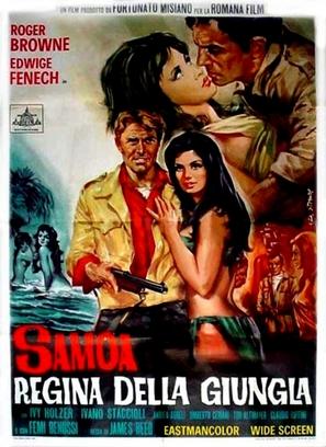 Samoa, regina della giungla - Italian Movie Poster (thumbnail)