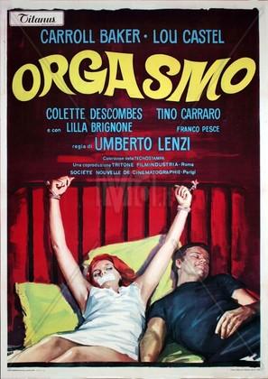 Orgasmo - Italian Movie Poster (thumbnail)