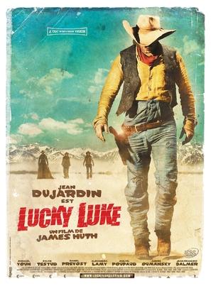 Lucky Luke - French Movie Poster (thumbnail)