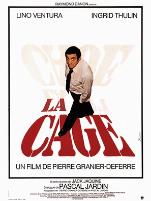 La cage - French Movie Poster (thumbnail)