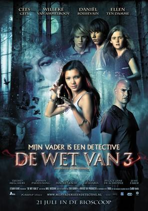 Mijn Vader is een Detective: De Wet van Drie - Dutch Movie Poster (thumbnail)