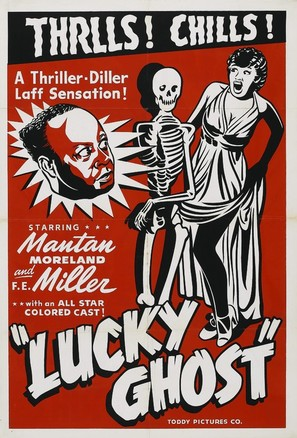 Lucky Ghost - Movie Poster (thumbnail)
