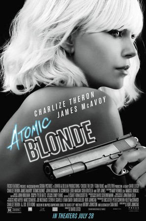 Atomic Blonde - Movie Poster (thumbnail)