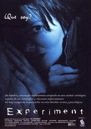 Experiment - Spanish Movie Poster (thumbnail)