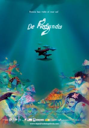 De profundis - Spanish Movie Poster (thumbnail)