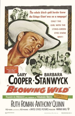 Blowing Wild - Movie Poster (thumbnail)