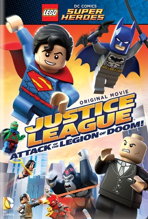 LEGO DC Super Heroes: Justice League - Attack of the Legion of Doom! - DVD movie cover (thumbnail)
