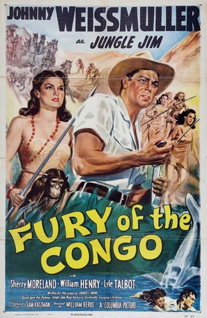Fury of the Congo - Movie Poster (thumbnail)