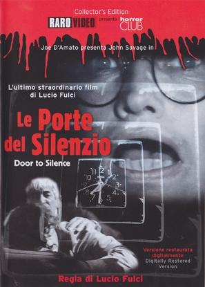 Le porte del silenzio - Italian DVD cover (thumbnail)