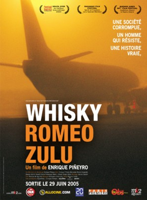 Whisky Romeo Zulu - French Movie Poster (thumbnail)