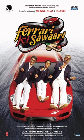 Ferrari Ki Sawaari - Indian Movie Poster (thumbnail)