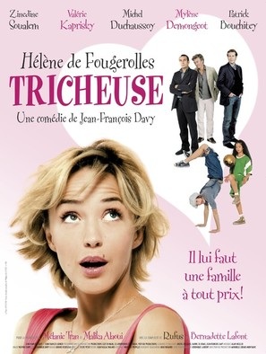 Tricheuse - French Movie Poster (thumbnail)