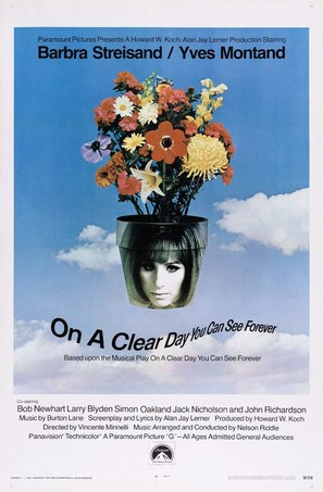 On a Clear Day You Can See Forever - Movie Poster (thumbnail)
