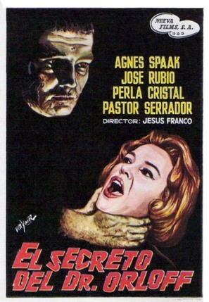 El secreto del Dr. Orloff - Spanish Movie Poster (thumbnail)