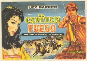 Capitan Fuoco - Spanish Movie Poster (thumbnail)