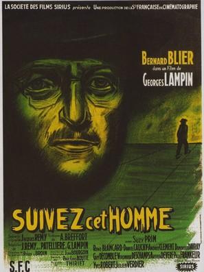 Suivez cet homme - French Movie Poster (thumbnail)