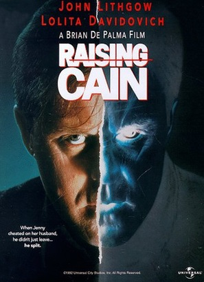 Raising Cain - DVD cover (thumbnail)