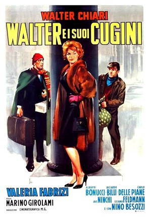 Walter e i suoi cugini - Italian Movie Poster (thumbnail)