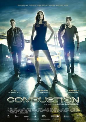 Combustión - Spanish Movie Poster (thumbnail)