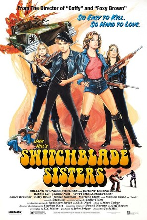 Switchblade Sisters - Movie Poster (thumbnail)