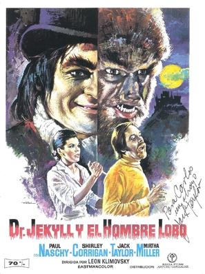 Dr. Jekyll y el Hombre Lobo - Spanish Movie Poster (thumbnail)