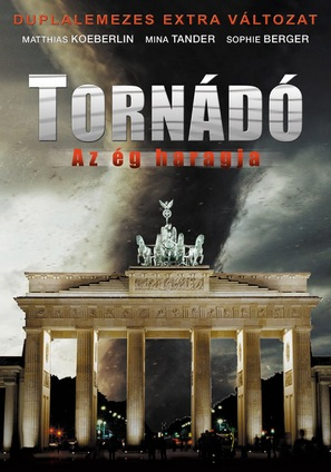 Tornado - Der Zorn des Himmels - Hungarian DVD cover (thumbnail)