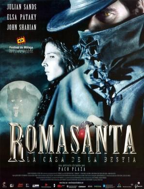 Romasanta - Spanish Movie Poster (thumbnail)